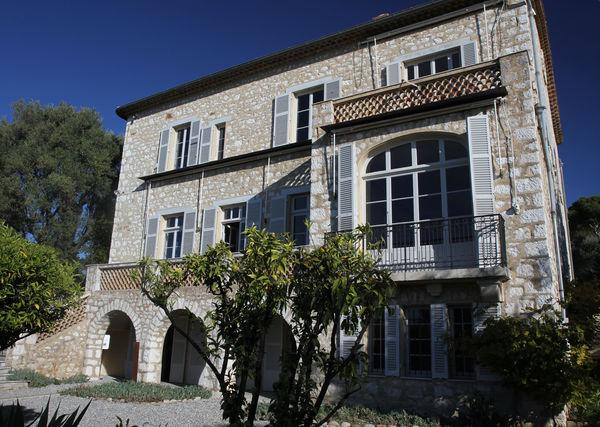 Villa Renoir in Cagnes von Provence-Guide.net